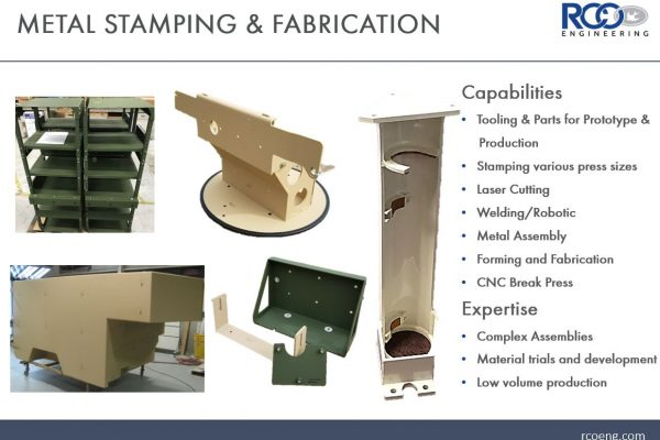 Metal Stamping and Fabrication Photo